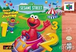 Elmo's Number Journey (USA) Box Scan